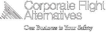 Image of Corporate Flight Alternatives logo, one of many customers using naturalForms mobile forms for business